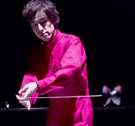 Takahiko Hasegawa / Former yo-yo world champion and owner of the Spin Gear yo-yo shop