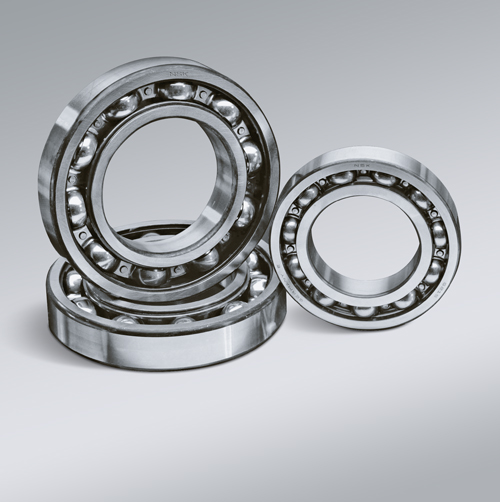 Single-Row Deep Groove Ball Bearings (Pressed Steel Cages)