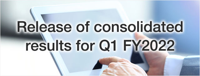Release of consolidated results for Q1 FY2019