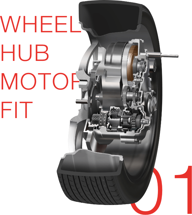 WHEEL HUB MORTOR FIT